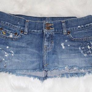 Abercrombie & Fitch Vintage Mini Skirt Size 0